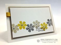 SU! Bloomin' Marvelous stamp set in Sahara Sand, Summer Starfruit and Basic Gray - Mary Fish