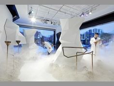 41 #Department Store Innovations - From Simulated Shop Assistants to Pop-Up Beauty Boutiques (TOPLIST) #retail