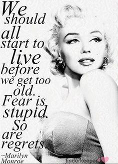 Love me some Marilyn Monroe :)