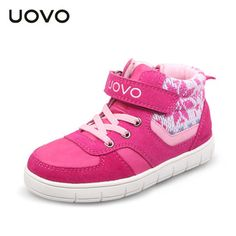 Cheap sneakers shoes girls, Buy Quality kids sneakers directly from China high sneakers boy Suppliers: UOVO 2017 Children Sneakers Leather High Shoes Girls ShoesAutumn Kids Shoes,High Quality Boys Shoes Sneakers With Wheels, Sneakers For Sale, Girls Sneakers, Boys Shoes, High Top Boots, High Shoes, Womens Fashion Sneakers, Childrens Shoes, Leather