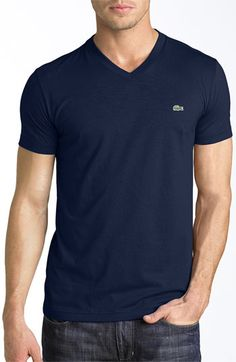 Lacoste V-Neck T-Shirt | Nordstrom