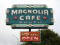 Magnolia Cafe, South Congress Ave. Austin Texas