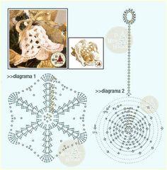 campanas de navidad paso a paso crochet - Buscar con Google