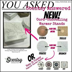 Did you know that Scentsy makes stands for your warmers? Click on the picture to explore the website and see what other surprises Scentsy has that you didn't know about!   https://lfletcher.scentsy.us FB: www.facebook.com/groups/lovescentsywithlauren