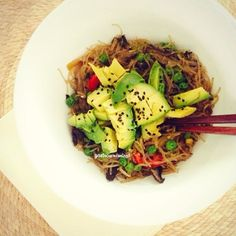 "Gastrawnomica   Vegan ""Pad Thai"" ☺ ☻ ☂. ☺"