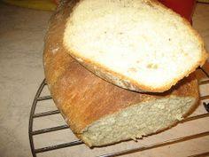 Ψωμί με γάλα χωρίς ζύμωμα 4 1/2 φλιτζάνια αλεύρι 1 3/4 φλιτζανιού γάλα ζεστό 2 κ,σ βιτάμλιωμένο 2 κγλ μαγιά ξερή 2 κ,γλ... Bread, Food Blogs, Brot, Baking, Breads, Buns