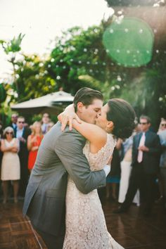 such a happy kiss   Photography by emilylblake.com     Read more - http://www.stylemepretty.com/2013/07/30/san-francisco-wedding-from-emily-blake/