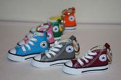 Converse Chuck Taylor Sneaker Keychains !!! green (: