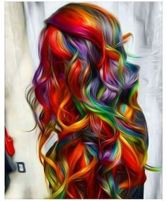 Just awesome hair !