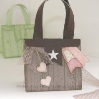 Tasche mit dem neuen Falzbrett für Geschenktüten
