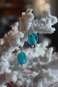 Check out this item in my Etsy shop https://www.etsy.com/listing/192254572/dark-aqua-silver-earrings-118