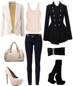 """""""Day & night outfit"""" by vita7719 ❤ liked on Polyvore"""