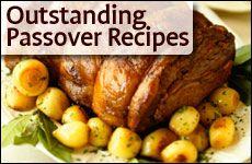 Many Passover recipes