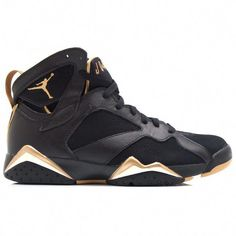separation shoes 5988f 5e8ca New Big Boys Shoe Air Jordan VII Golden Moments Retro Black Metallic Gold  Sail Multicolor 304774 030