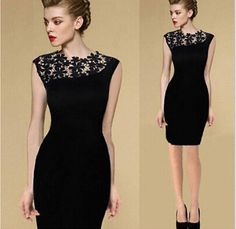 Cheap pencil dress, Buy Quality casual dress directly from China elegant dress Suppliers: Casual Dress Summer Black Sexy Women Stretch Evening Party Lace Slim Bodycon Pencil Dresses Vestidos Crochet Elegant Dress Elegant Dresses, Sexy Dresses, Evening Dresses, Casual Dresses, Short Dresses, Fashion Dresses, Summer Dresses, Sleeveless Dresses, Cheap Dresses