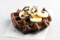 Receta de Gofres de Chocolate Veganos y Sin Gluten. Descubre sus ingredientes y elaboración en Recetags.com