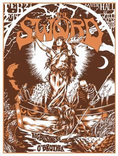 The Sword concert poster