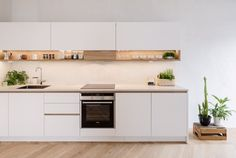 Over the past 40 years, the kitchen cabinet industry has been transformed by modular, factory-made cabinets. These cabinets are constructed in a factory and shipped to the jobsite instead of being built onsite by a local cabinet maker. Stock Cabinets, Kitchen Cabinets, Cabinet Makers, Kitchens, Design, 40 Years, Bespoke, Furniture, Touch