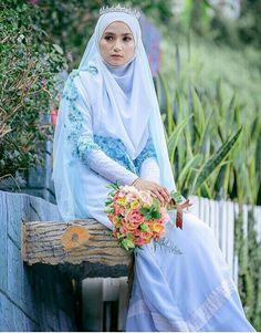 Dusty blue……islamic wedding concept by EJASHAHRIL