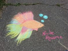 - Chalk Art - Sidewalk ChalkRainbowBetafic ArtYou can find Sidewalk art and more on our website.Sidewalk chalk Rainbow Be. Chalk Design, Art Design, Chalk Drawings, Art Drawings, Sidewalk Chalk Art, Creta, Chalkboard Art, Tag Art, Cute Art