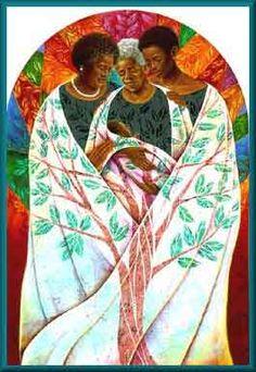 """""""Family Tree"""" by Keith Mallett."""
