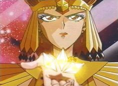 Sailor Galaxia Holding Star Seeds