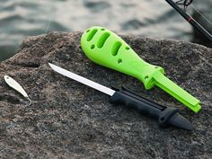 Kombo Fishing Multi-Tool  Independent Maker With Kombo's fishing multi-tool, the slippery task of filleting a freshly caught fish becomes a lot easier.