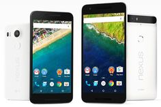 Google Nexus 6P and 5X Launched in India