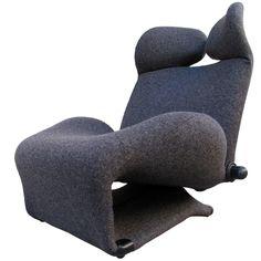 Kita Toshiyuki  Wink Chair for Cassina ca1976