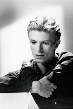 David Bowie by Tom Kelley, 1975