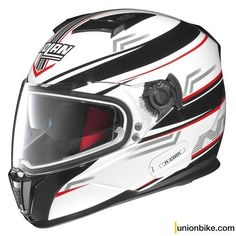 Casco Nolan N86 Flow Metal White