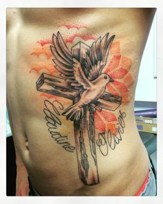Tatouage colombe by Merries Melody tattooshop66 - http://merriesmelody.com