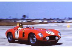 Juan Manuel Fangio Ferrari 860 Monza at Sebring 1956