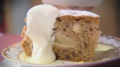 Apple Cake Made with Olive Oil instead of Butter