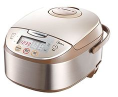 Midea 4017 12 Pre Set Multi Functional Energy Efficient Smart Rice Cooker with Automatic Keep Warm and Reheat Facility * BEST VALUE BUY on Amazon #FavoriteRiceCooker
