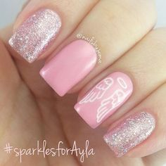 Feel like you are stuck in a rut? Look at our exciting and inspiring list of pink nail designs that are perfect for your next at home manicure! Nail Art Rosa, Hair And Nails, My Nails, Cancer Nails, Nails Today, Finger Nail Art, Pink Nail Designs, Nails Design, Manicure E Pedicure
