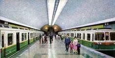 1977 Postcard Set – Pyongyang Metro, North Korea DPRK