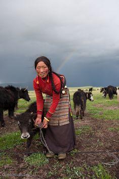 Nomads of Litang, Tibetan people in China