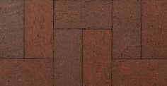 Oxford Paver by Glen-Gery is a brown extruded paver from the Redfield Plant #paver #glengery #brownpavers