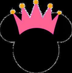 Cuarta parte de Minnie Princesa: etiquetas, imágenes y fondos para imprimir gratis. - Ideas y material gratis para fiestas y celebraciones Oh My Fiesta!