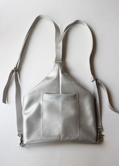 Plan B anna evers DIY Silver backpack front