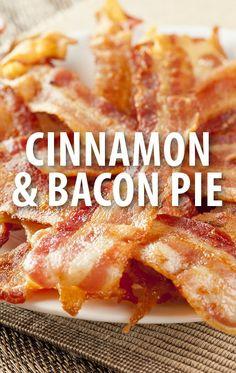 The Chew: Chef Carla Hall's Cinna-Bacon Pie Recipe & Baconfest Episode The Chew Recipes, Bacon Recipes, Chef Recipes, Food Network Recipes, Bacon Pie, Pork Bacon, Breakfast Dishes, Breakfast Recipes, The Chew Tv Show