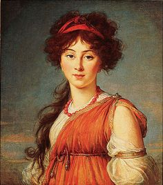 Varvara Ivanovna Ladomirsky    Elisabeth Louise Vigée Lebrun (French, 1755 - 1842), 1800