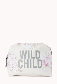 Wild Child Makeup Case from Forever Shop more products from Forever 21 on Wanelo. School Supplies For Teachers, School Supplies Highschool, Shop Forever, Forever 21, Black Pencil Case, Cos Bags, Imperfection Is Beauty, Wild Child, Makeup Case