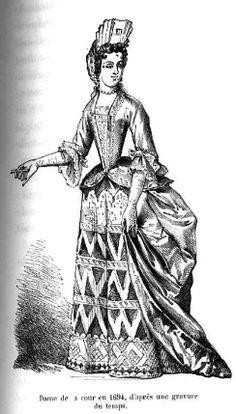 1690s fashion