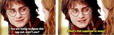 """That time he was like, """"Ew, Hermione, I get it, my body is a beautiful maturing flower."""" 