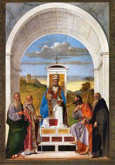 San Pietro di Castello  Marco Basaiti S. Peter e santi