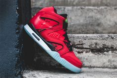 """#Nike Air Tech Challenge Hybrid """"Chilling Red"""" #sneakers"""