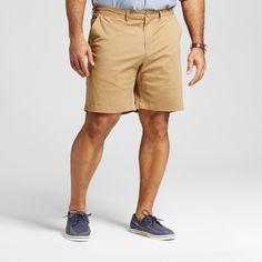 Men's Big & Tall Club Shorts 8 - Merona Brown 50