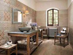 Idée carrelage salle de bain aux motifs originaux